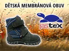 Dětská membránová obuv Jastex